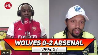 Wolves 0-2 Arsenal | Lacazette Never Hides! (Curtis)