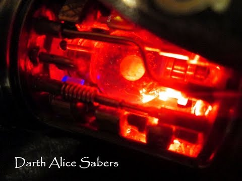 The KOTOR Krayt G-core Custom Lightsaber by Darth Alice