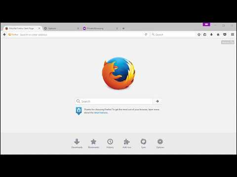 Firefox - change Start Page and New Tab
