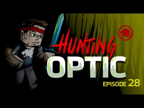 Minecraft: Hunting OpTic - The Big Fight! Me Vs Nadeshot & BigTymer! (Episode 28)