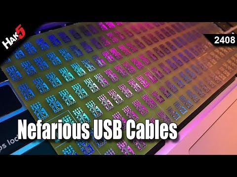 Nefarious USB Cables - Hak5 2408