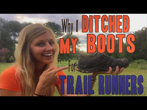 Why I Switched from Hiking Boots to Trail Runners