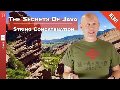 The secrets of Java String concatenation - 051