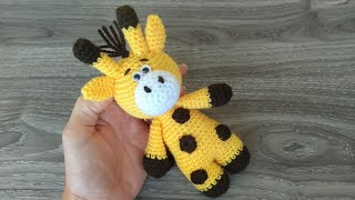 DIY Crochet Hippo and Giraffe Amigurumi | UsefulDIY.com | 180x320