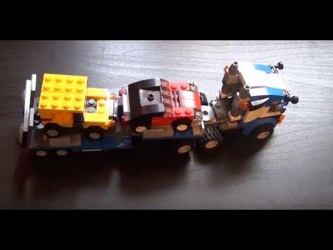 Lego Creator 31033 Vehicle Transporter 3 in 1