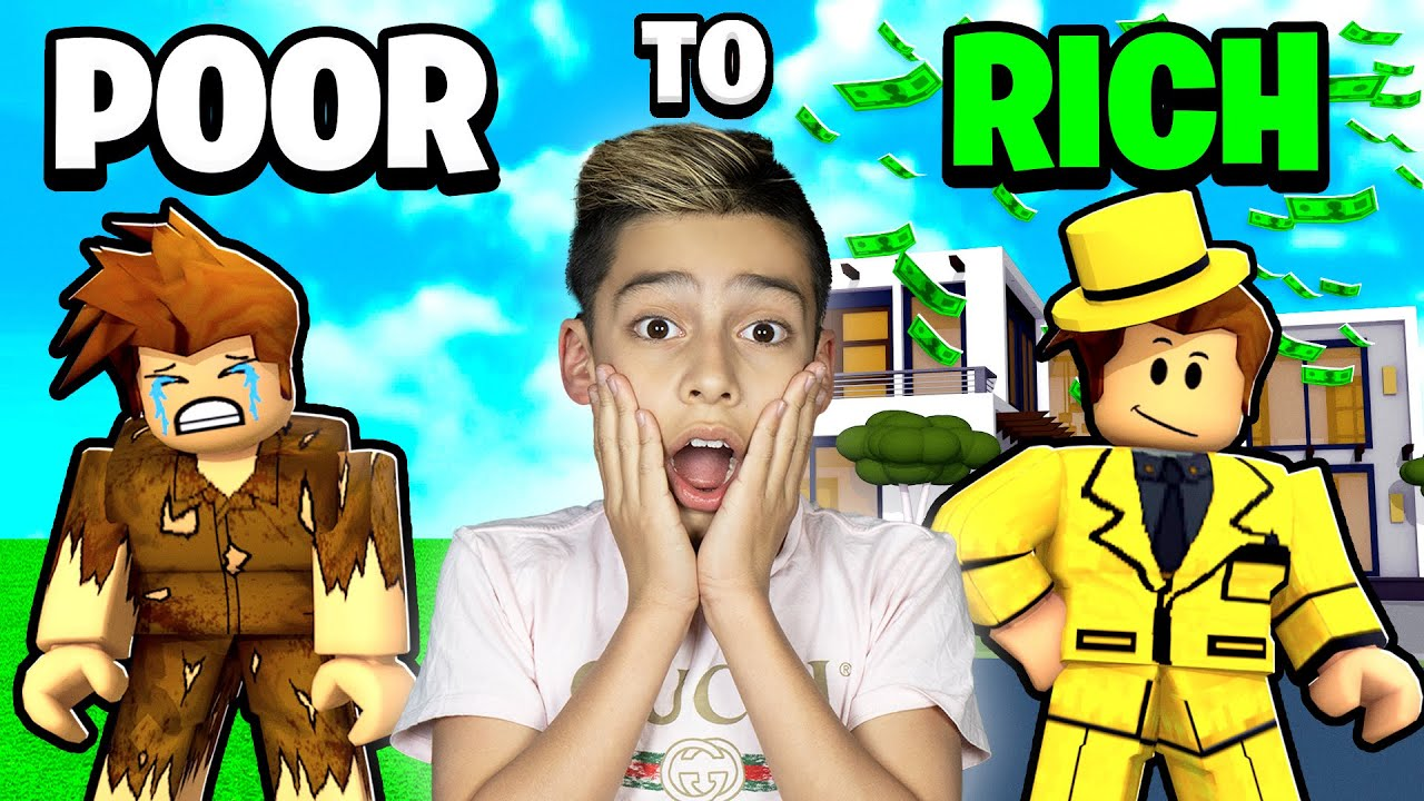 POOR to RICH in Roblox Brookhaven! | Royalty Gaming