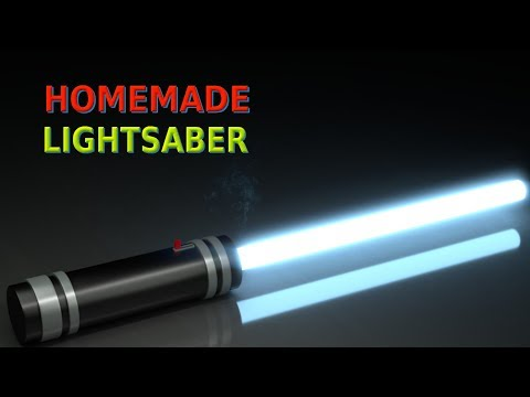 How to make Lightsaber at home