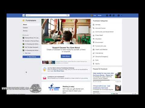 Facebook Donate Button and Fundraiser