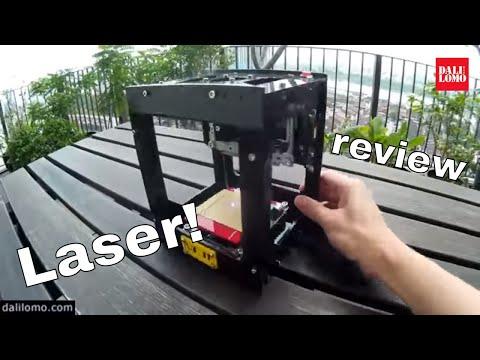 $100 Laser Engraver: NEJE DK BL1500mw From GearBest #1803 Unboxing