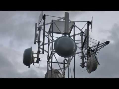 AeroLan WiFi base tower Build (2010)