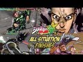 JoJo's Bizarre Adventure: All Star Battle - All Situation Finishes!