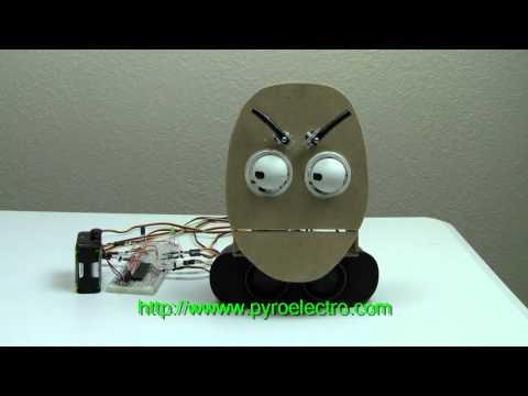 Animatronic Face - Servo Actuated