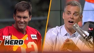 Colin on the ease of playing with Brady, the Raiders considering trading Mack | NFL | THE HERD