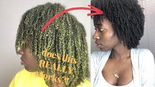Cassia Obovata treatment on 4C HAIR..first time!   Ayurvedic hair care   grow 4c hair