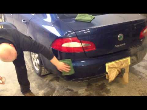 Clean your car without water 1