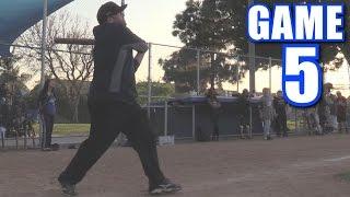 MY FIRST ON-SEASON LEAGUE HOME RUN! | On-Season Softball League | Game 5