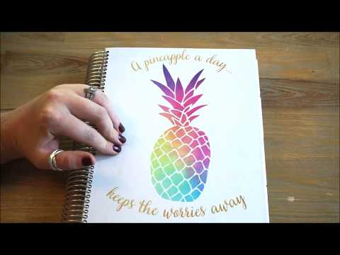 2018 Purple Trail Planner Review   The Mom Planner   SAHM   Getting Ready for 2018