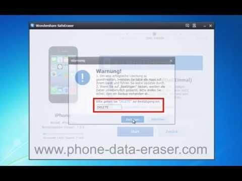 [iPhone Data Eraser]: Wie Sie zu Löschen / Alle löschen, iPhone Daten dauerhaft?