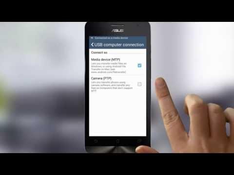 Transfer Data Android ke PC - ASUS Zenfone