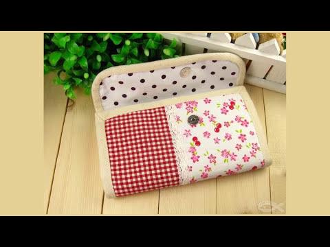 Shine Sewing Tutorial Fabric Accordion Wallet