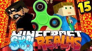 Minecraft: SKYREALMS | FIDGET SPINNER CHALLENGE?? [15]