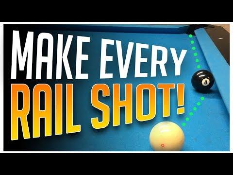 Pool Lessons - Make every Rail Shot!!!