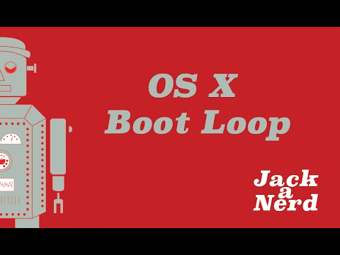 OS X Boot Loop Fix - After installing 10.10.3