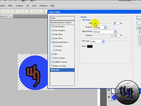 How To Make A Watermark In Photoshop cs4/cs3