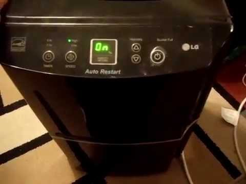 LG Dehumidifier Easy Repair Fix (Red Light Beep Water Not Collecting LD651EBL Ld301el LD650EAL)