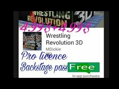 No Root,Get Free Pro license  in WR3D/Wrestling Revolution 3D