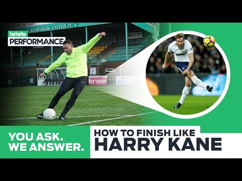 How To Finish Like Harry Kane   Soccer Shooting Drill   You Ask, We Answer
