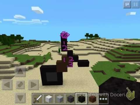 MCPE: How To Make An Iron Sword