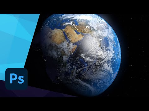 How to Create a Realistic Earth in Photoshop - TUTORIAL