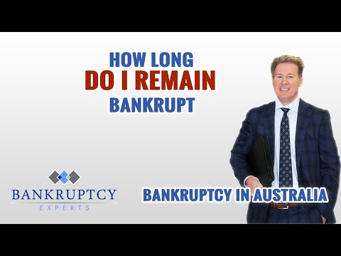 How long does an Australian Bankruptcy last?