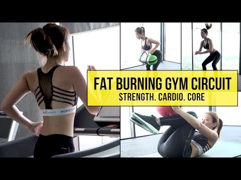 My Fat Burning Gym Circuit (Strength. Cardio. Core) | Joanna Soh