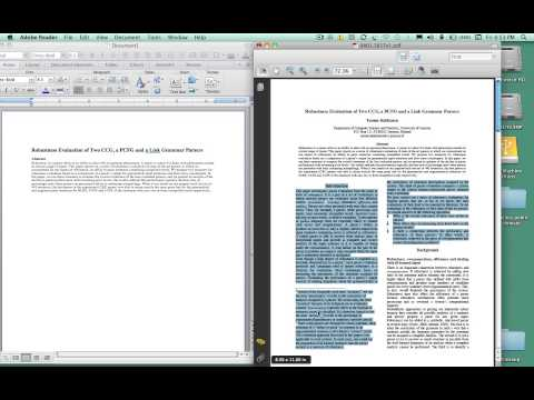 Scientific Writing Assistant (SWAN) video tutorial: Part 1 - Before you start, Clean up