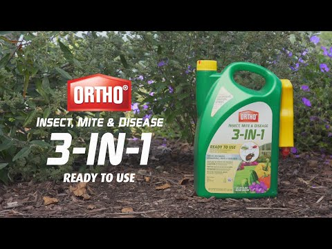 How to Use Ortho® Insect, Mite & Disease 3-in-1 Ready-To-Use
