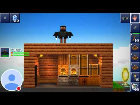 Building my awesome house! | the blockheads #1