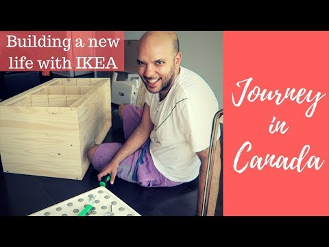 Journey in Canada | Toronto - 30th of May 2018 - How to build a house with ikea