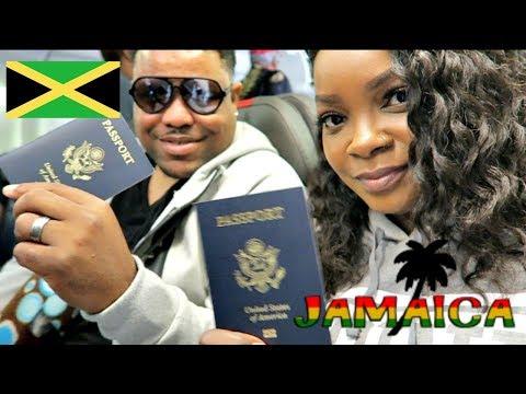 TRAVEL VLOG| 1ST INTERNATIONAL BAECATION| JAMAICA 2017| DAY 1