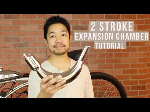 2 Stroke Motorized Bike Expansion Chamber Tutorial