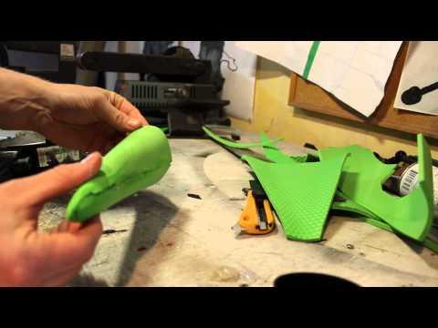 Making a horn using eva foam