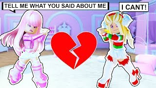 I Had To Keep A Secret From My BEST FRIEND! (Roblox)