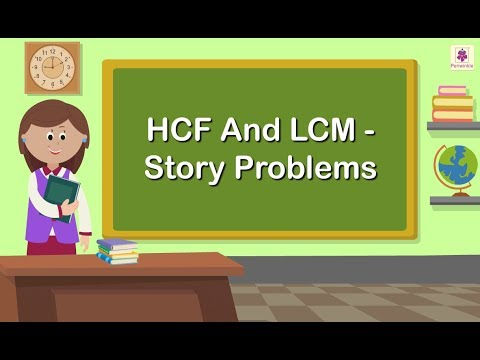 Solving Story Problems - HCF And LCM | Maths Grade 5 | Periwinkle