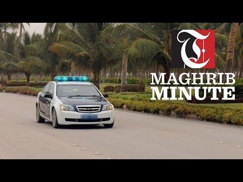 Royal Oman Police apply traffic laws