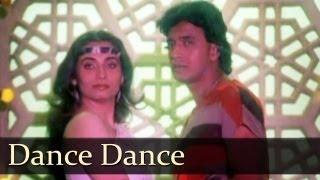 Dance Dance - Mithun Chakraborty - Kasam Paida Karne Wale Ki - Bappi Lahiri - Best Hindi Fun Songs