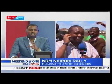 NASA rally in Nairobi today Sunday