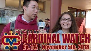 Cardinal Watch: ep. 112 - November 5th, 2018