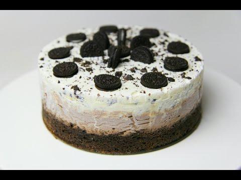 OREO ICE CREAM CAKE - CookingwithKarma