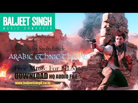 FREE Background Music  ||  Arabic Ethnic Theme  ||  Baljeet Singh | Free Music for Commercial Use